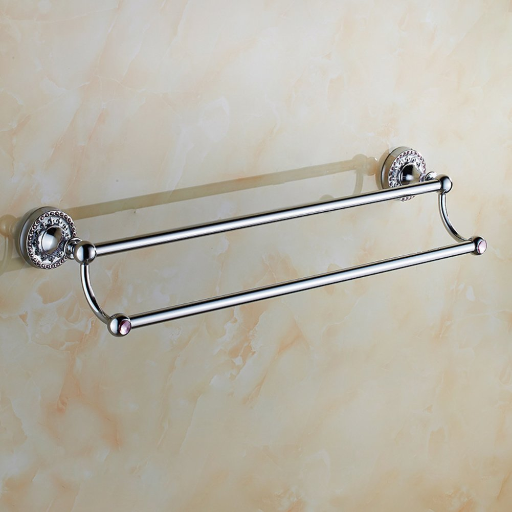Bathroom towel rack Gold/Bathroom Towel Bar/Towel shelf /Toilet rail/Towel Bar-C chic