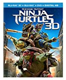 Teenage Mutant Ninja Turtles (2014) [Blu-ray 3D + Blu-ray + DVD + Digital HD]