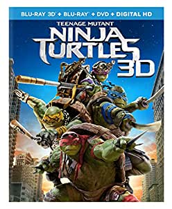 Amazon.com: Teenage Mutant Ninja Turtles (2014) [Blu-ray 3D ...