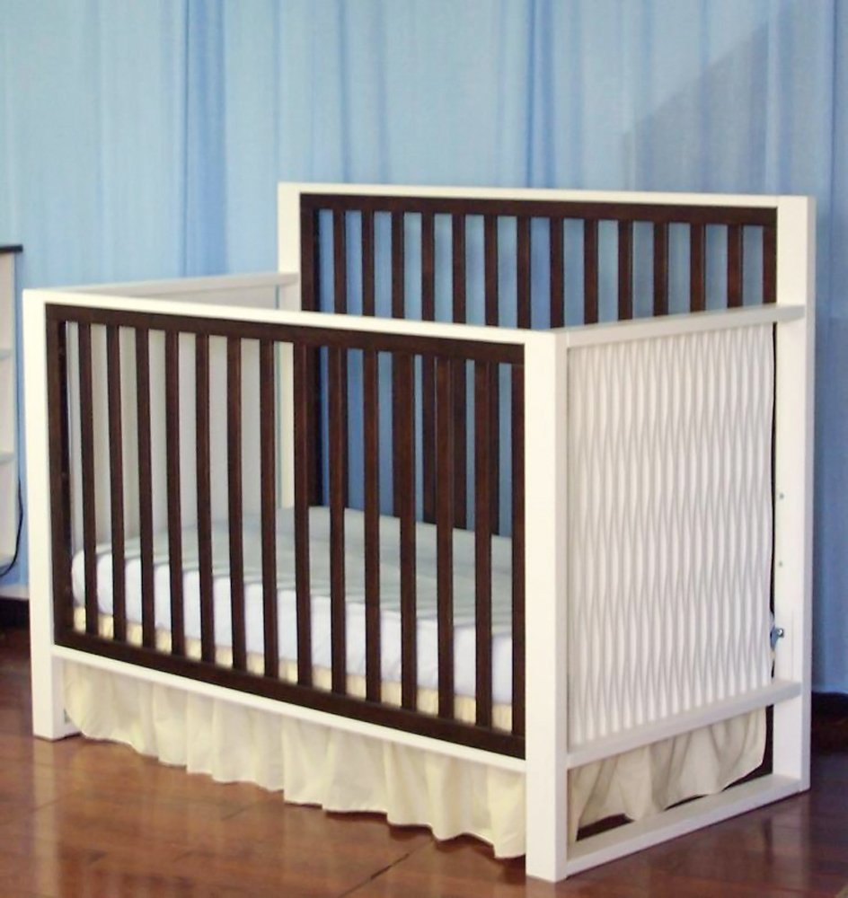 Amazon Com Eden Baby Moderno Collection Crib White Espresso