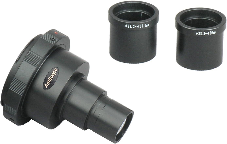 AmScope ca-can-slr-iii nueva Canon SLR/cámara réflex digital ...