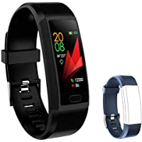 F-FISH Fitness Tracker Monitor de frecuencia cardíaca, Smart Watch Fitness Tracker Watch Hombres Mujeres Smart Watch…