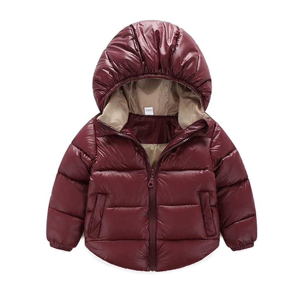 TAIYCYXGAN Baby Boys Girls Winter Puffer Coat Kids Thicken Down Jacket Outwear