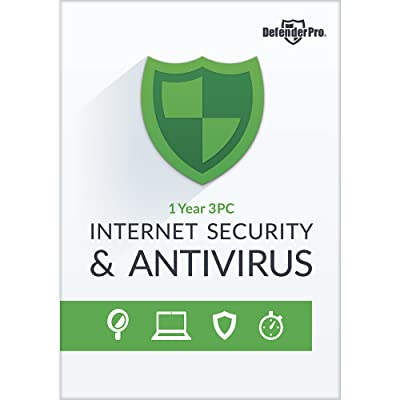 Defender Pro Internet Security & Antivirus 1 YR 3 PCs [Download]