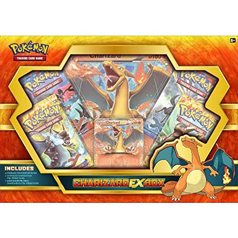 Pokemon Charizard Ex Box TCG Boosters (Discontinued by manufacturer) (Mega Charizard Ex Japan)