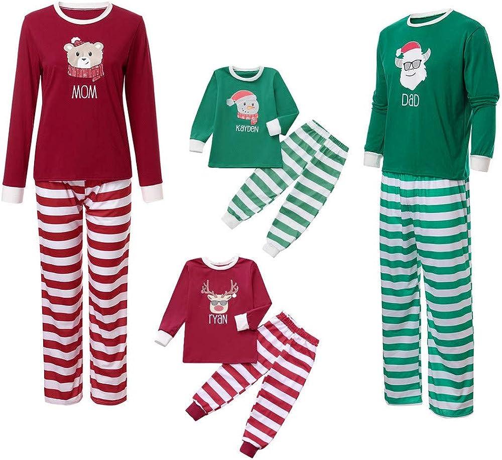 Familia de Coincidencia de Patrones de Navidad Pijamas Set ...