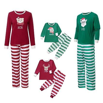 Amazon.com   Iusun Family Christmas Pajamas Matching Sets 5268d24d1
