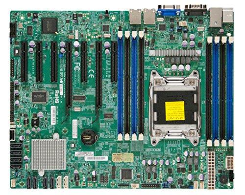 - Supermicro LGA2011/Intel C602/DDR3/SATA3/V&2GbE/ATX Server Motherboard, Retail X9SRL-F-O