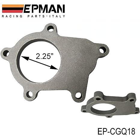 EPMAN T04E T3/T4 430 Tuerca 5 TURBO salida descarga tubo acero brida / vivienda
