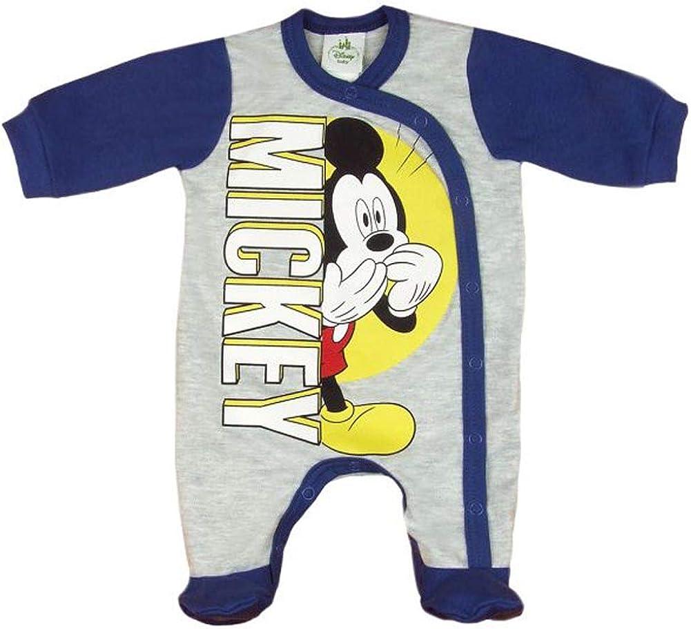 f/ür Kleinkinder Disney Baby-Schlafanzug f/ür Jungen Mickey Maus