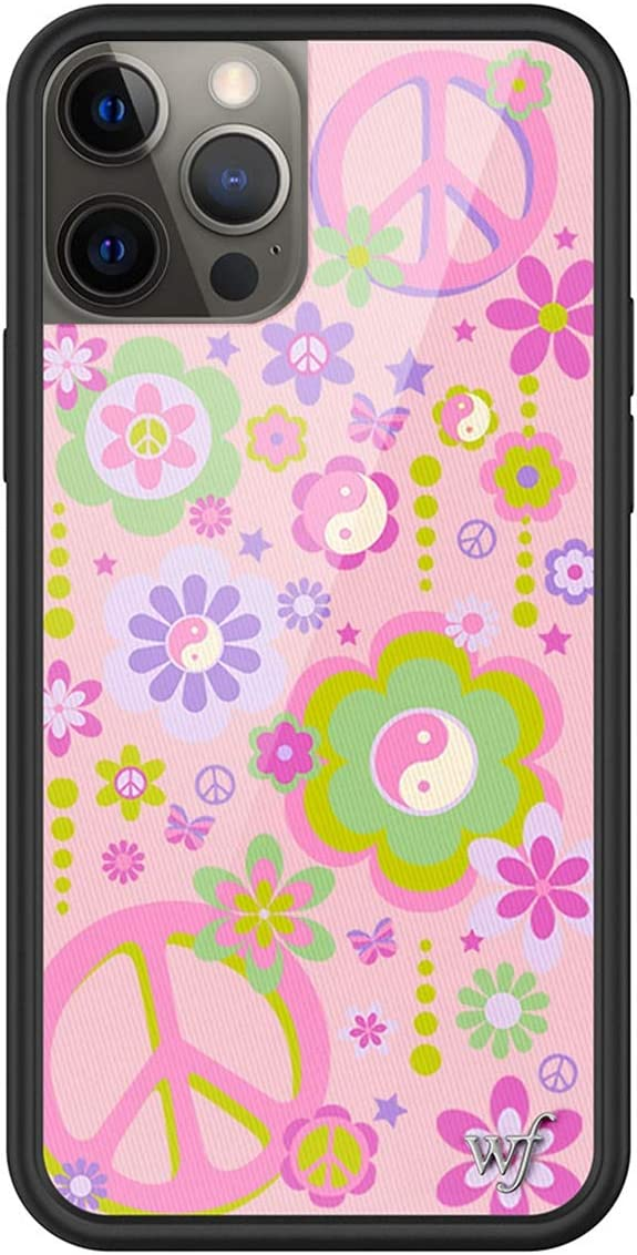 Wildflower Limited Edition Cases Compatible with iPhone 12 Pro Max (Peace n Luv)