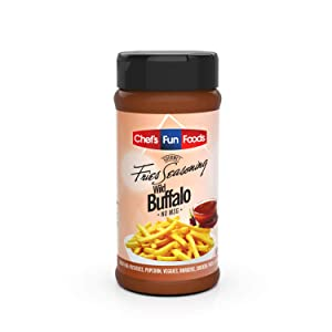 Gourmet Fries Seasonings Bottle, Wild Buffalo, 8 Ounce