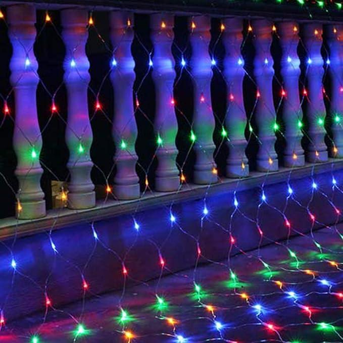 FAPROL Luces De Cortina Luz De Árbol De Navidad De Hadas Luz De ...