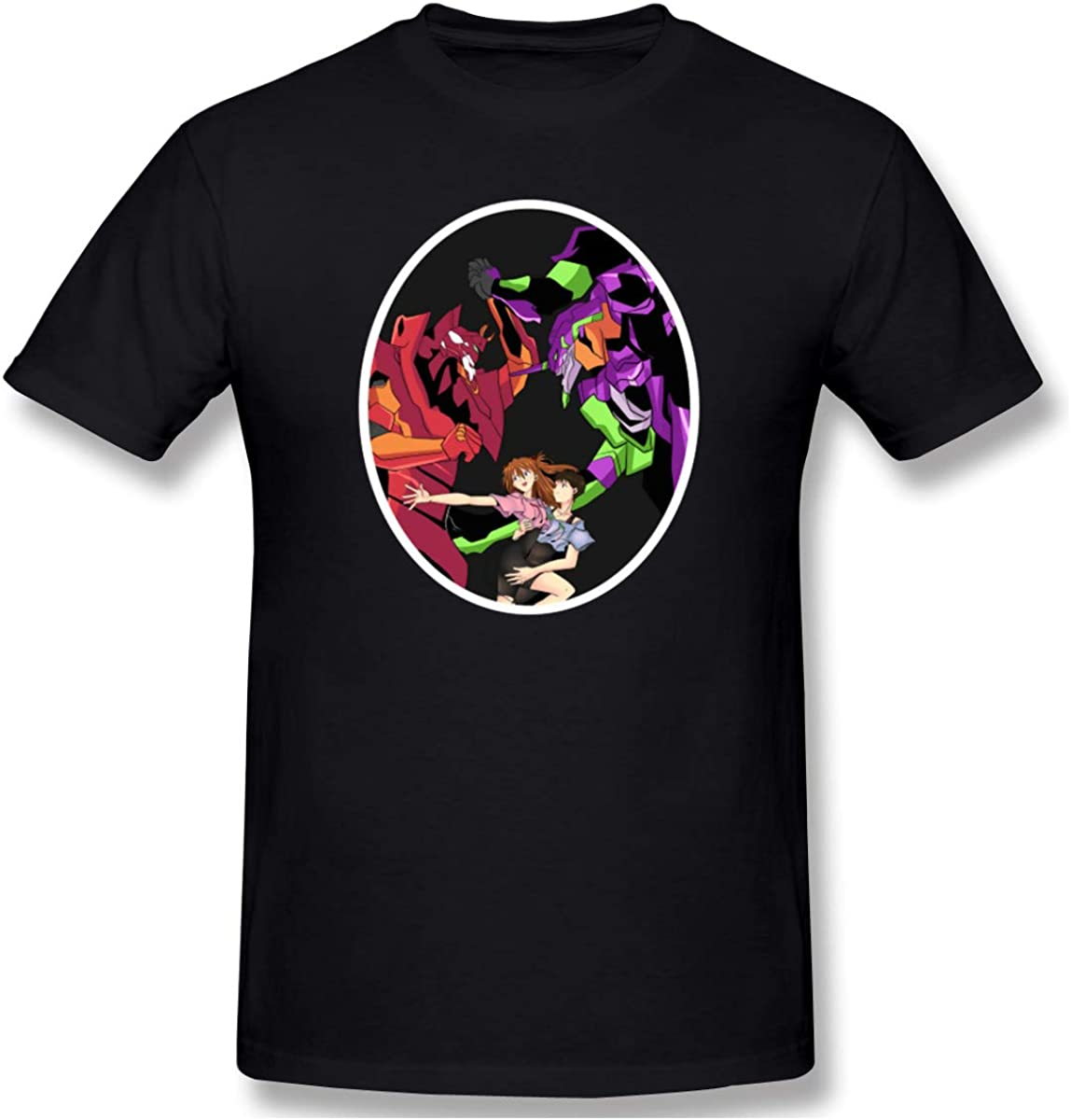 Neon Genesis Evangelion: Asuka and Evangelion Unit-02 T-Shirt - Officially Licensed