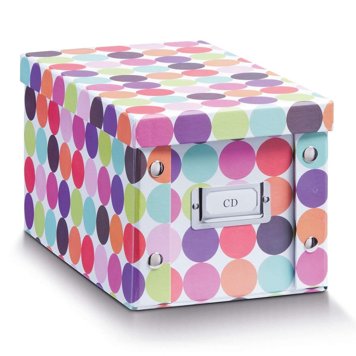 Wood Zeller Kids CD-Box Multi-Colour,16.5 X 28 X 15 Cm