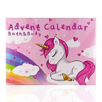 Geschenkideen Für Weihnachtskalender.Einhorn Beauty Wellness Adventskalender Unicorn Adventskalender