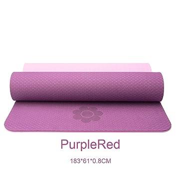 zhenyifan996 Yoga Mat Pilates Gimnasio Alfombra De Gimnasia ...