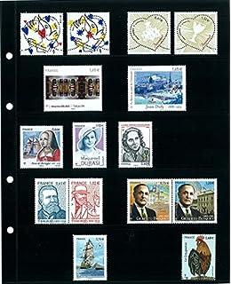 Álbum para sellos con 10 hojas de 7 bandas 7777: Amazon.es: Oficina y papelería