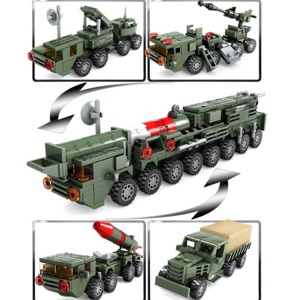 DYMAS Spielzeug Puzzle-Montage Kinder Kunststoff Bausteine Spielzeug Set mit Vier Boxen