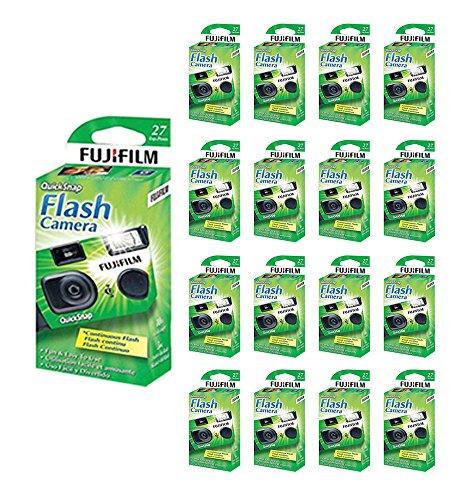 20x Fuji Quicksnap Flash 400 Disposable 35mm Camera