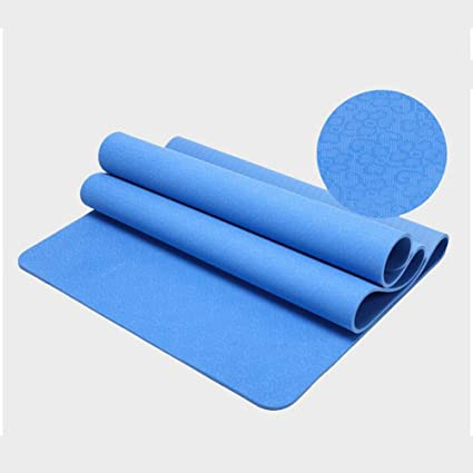 Amazon.com : Yoga mat 183 122cm Double Sports and Fitness ...
