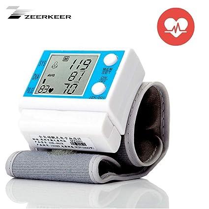 ZEERKEER - Tensiómetro automático en la muñeca, fácil de ...
