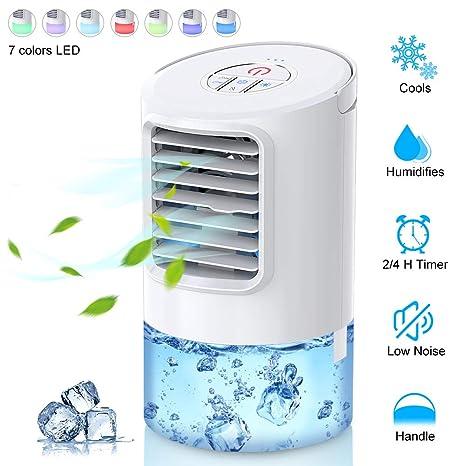 Ventilador de aire acondicionado personal, enfriador de espacio ...