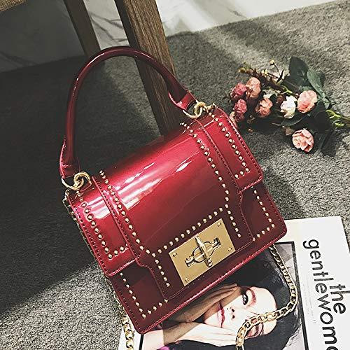 Y & g Gy Sac à bandoulière pour femme petit cadran féminin / + * + / (couleur: C, Taille 20xx15x8cm) C