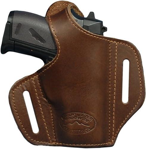 Barsony-New-Brown-Leather-Pancake-Gun-Holster