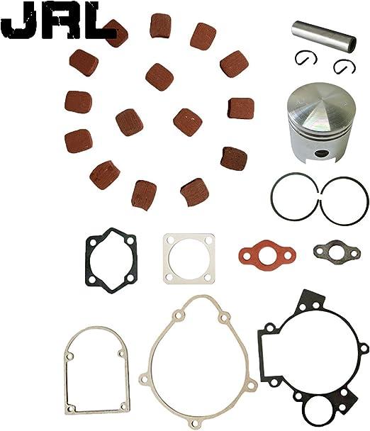 JRL Gear Set/&Square Clutch Pads /& Gasket Kit For 49cc 66cc 80cc Motorized Bike