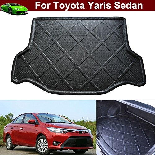 Toyota Yaris Cargo (Car Mat Boot Pad Carpet Cargo Mat Cargo Liner Trunk Liner Tray Floor Mat For Toyota YARIS Sedan 2014 2015 2016 2017 2018)