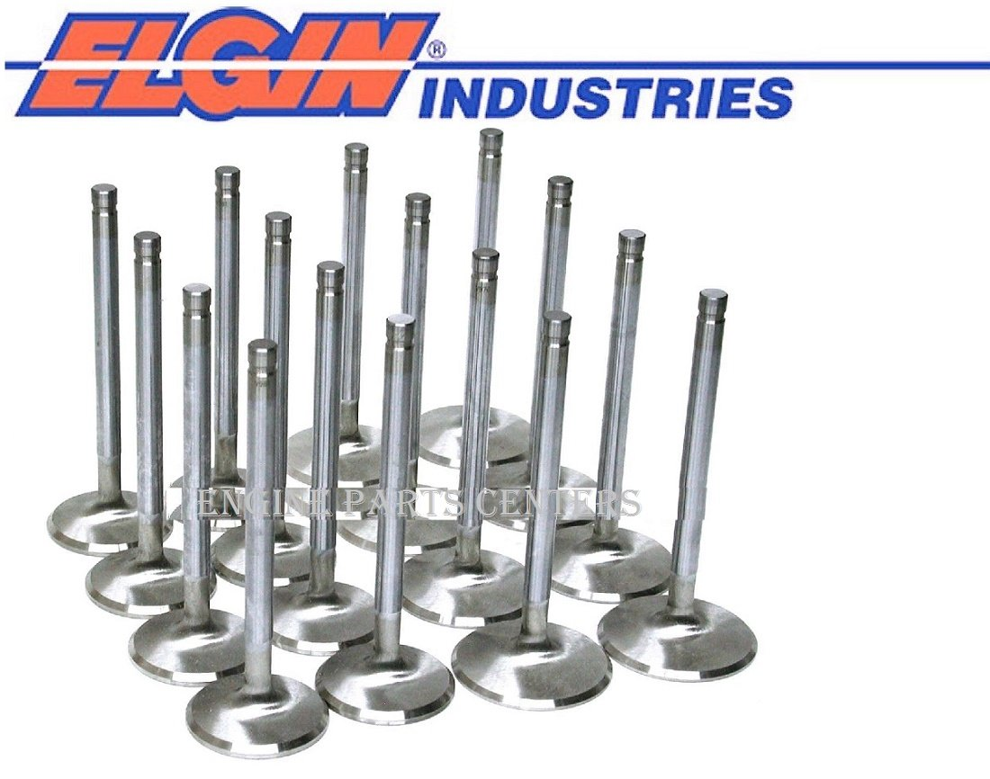 Stainless Steel Valve Set 1.72' Exhaust & 2.065' Intake Chevy bb 396 427 454 (1.720'/2.065' Head dia.) Elgin Industries