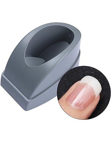 Molde contenedor de manicura francesa Born Pretty para sumergir la punta de las uñas, tiras