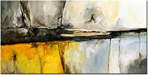 Abstract Mountain Canvas Wall Art Modern Landscape Painting Artwork for Living Room Bedroom