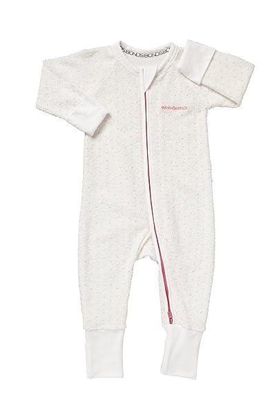 Amazon.com: Bonds Baby WONDERSUIT Pink Terry Zippy: Clothing