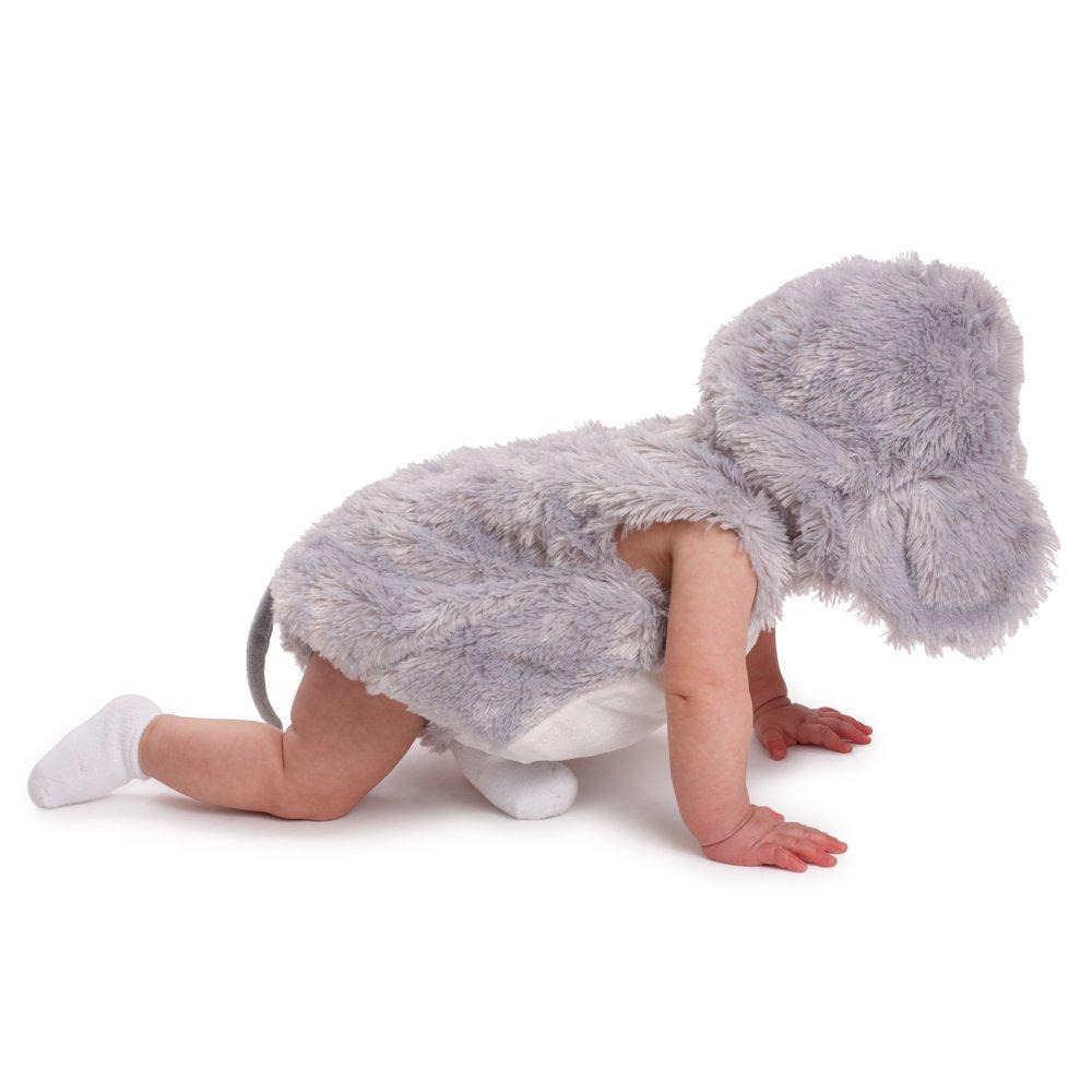 Dress up America beb/é S Squeaky rat/ón Halloween Pretend Play Disfraz 860-6-12 6-12 Months 7-9.5 kg, 61-71 cm Height Color