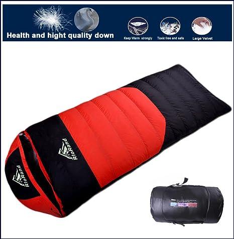 RioRand abajo saco de dormir ultraligero impermeable para al aire libre Camping & senderismo, edredón