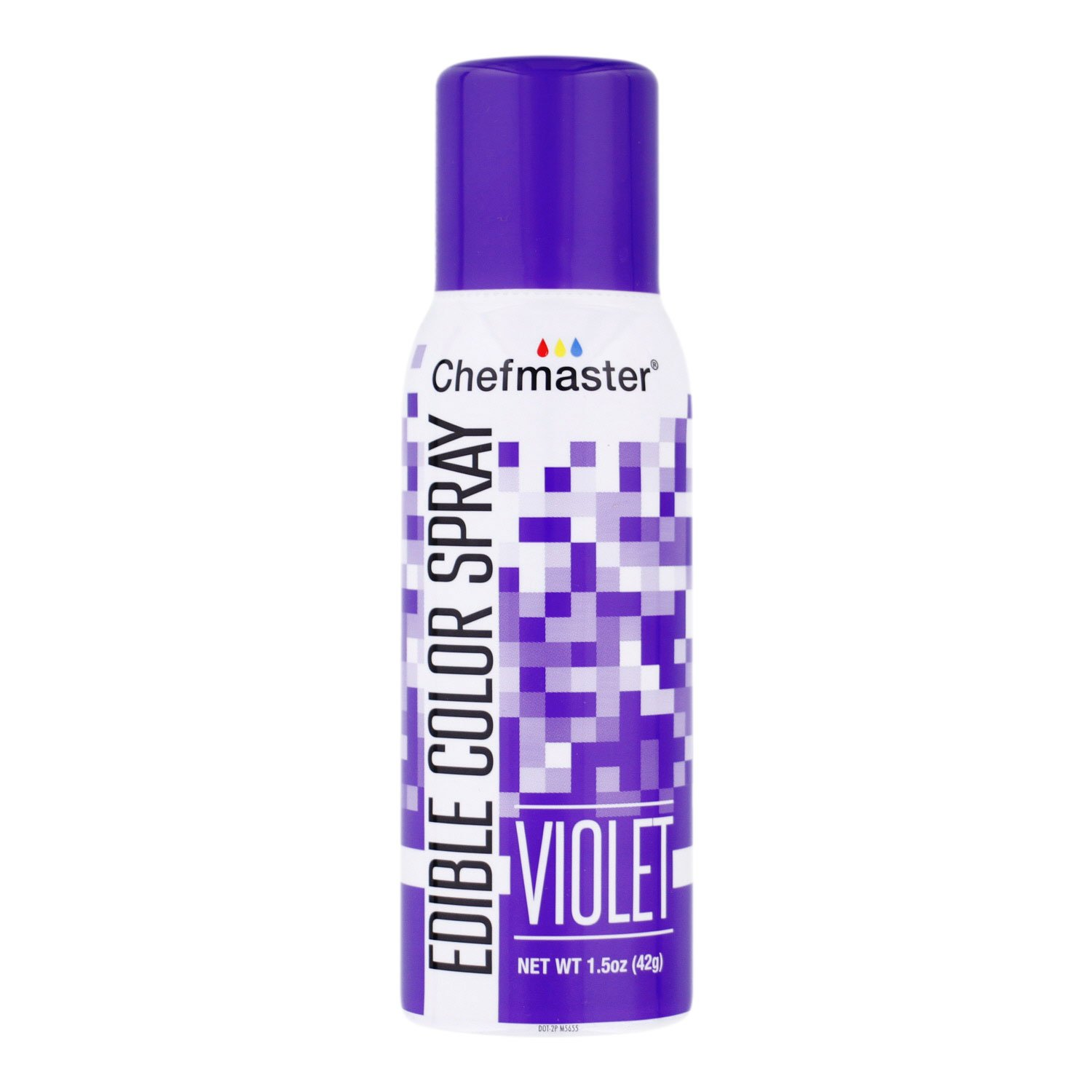 Chefmaster Edible Spray Cake Decorating Color 1.5 Ounce Can - Violet by Chefmaster
