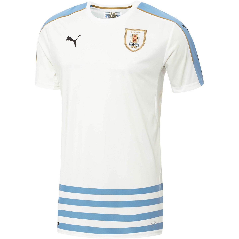 bed57faae57 Amazon.com: Puma Uruguay Away Soccer Jersey Copa Centenario 2016 (L ...