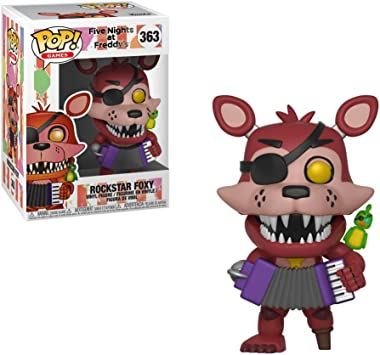 Pop! Five Nights At FreddyS - Figura de Vinilo Rockstar Foxy: Amazon.es: Juguetes y juegos