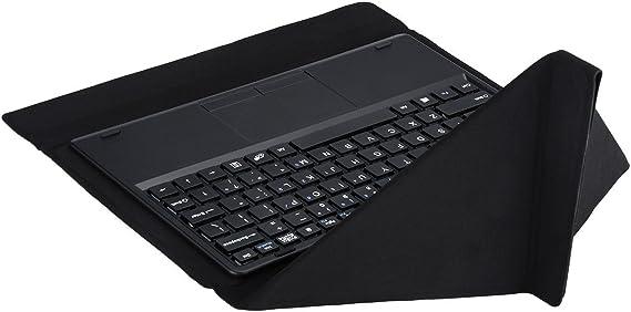 Teclast, Teclado original plegable para Tbook 11/X16 Plus, Tablet. Acoplamiento magnético con funda de piel sintética, negro