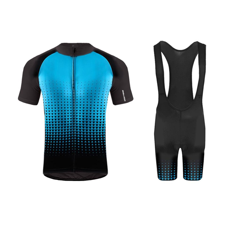 Uglyfrog Sportern 3 StripesアウトドアSportwear Short Sleeve Cycling Jerseyサイクリング衣類バイク着用 B074DD15J3 Large|Z 33 Z 33 Large
