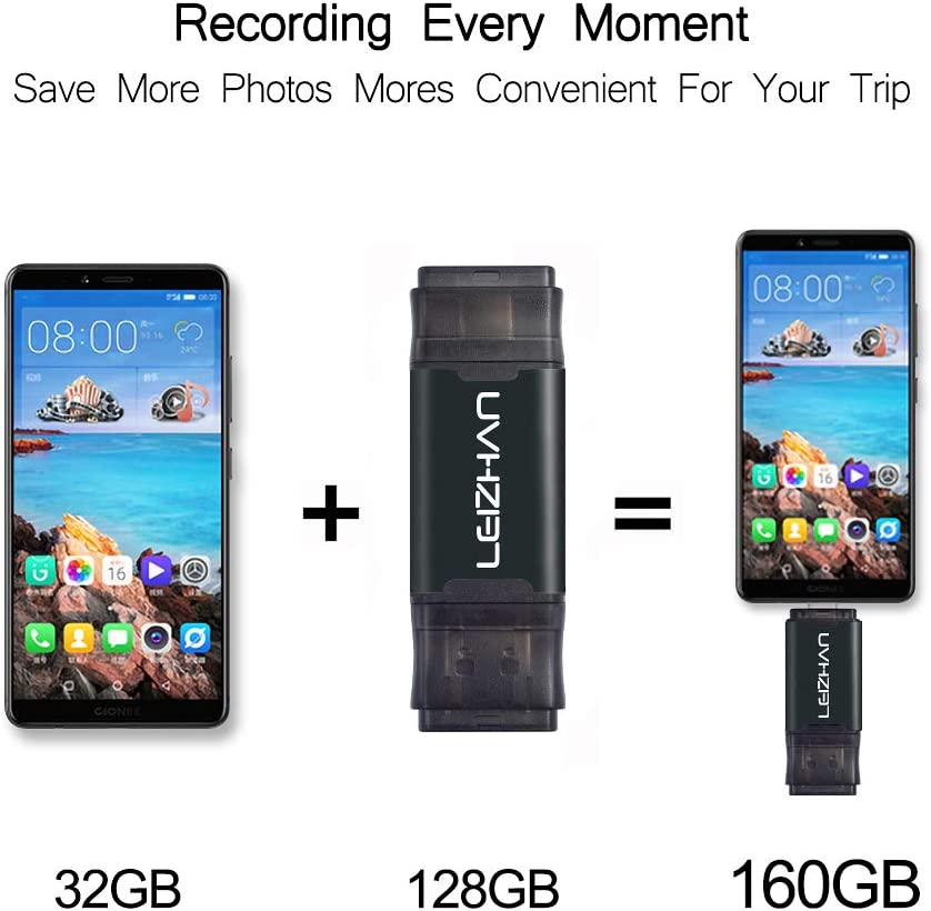 Note 9 Note 8,S10 S9 S8 S7 S6 S5,Google Pixel Type-C Flash Drive USB 3.0 Android Micro Memory Stick,64GB Phone Picture Stick for Samsung Galaxy Note 10