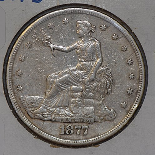 1877 IE U0080 US Trade Dollar S silver DE PO-01
