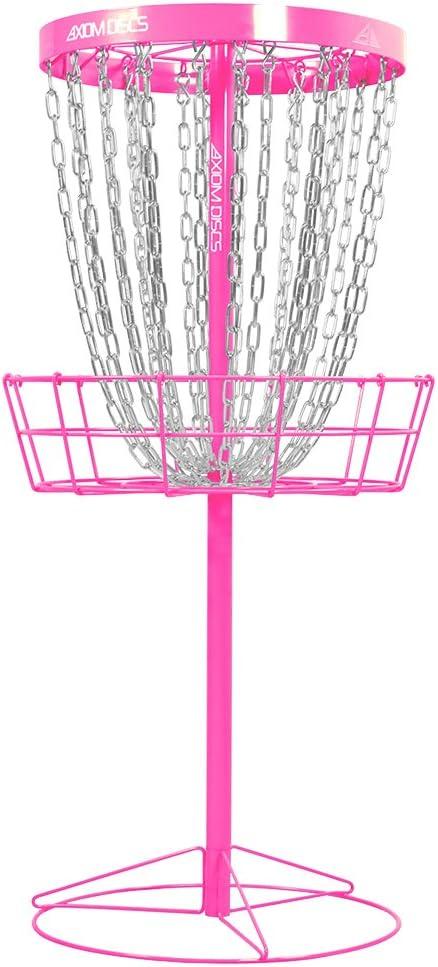 Axiom Discs Pro 24-chainディスクゴルフバスケット ピンク