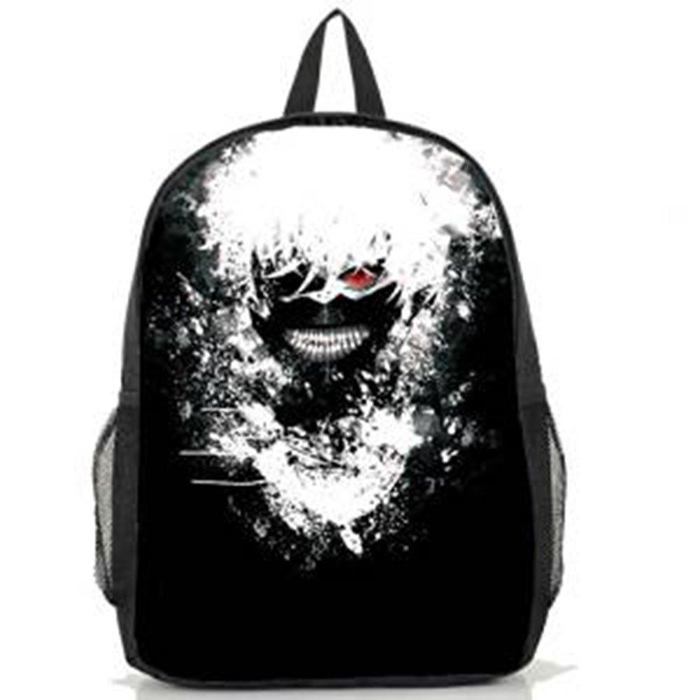Tokyo Ghoul Anime Cosplay Kaneki Ken School Bag Backpack Amazoncouk Toys Games