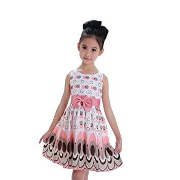 54f458c8f Amazon.com  Baby Girls Kids Party Princess Dresses Cuekondy Summer ...