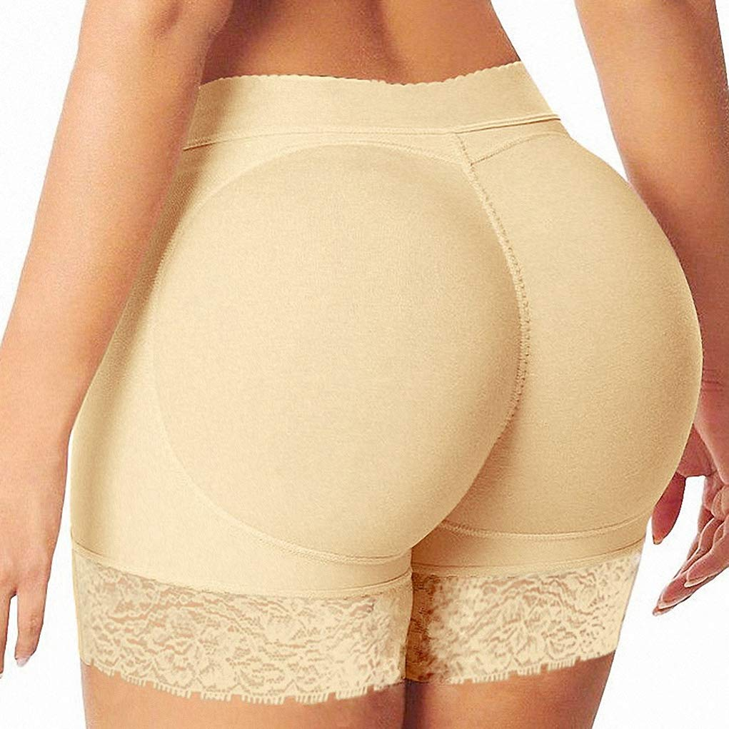 August Jim Women Control Panties, Hip Enhancer Butt Lifter Invisible Lace Shaper