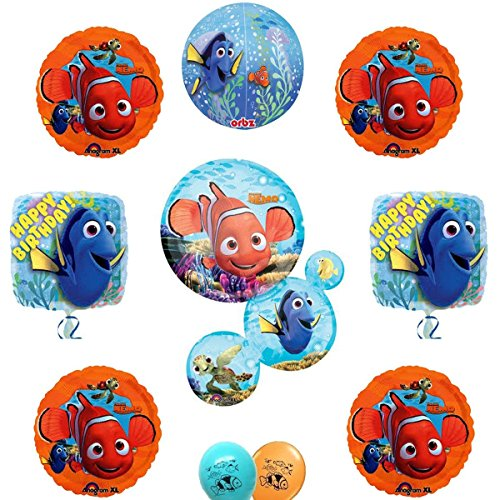 (Finding Nemo and Dory Party Supply Ultimate Balloon Decoration)