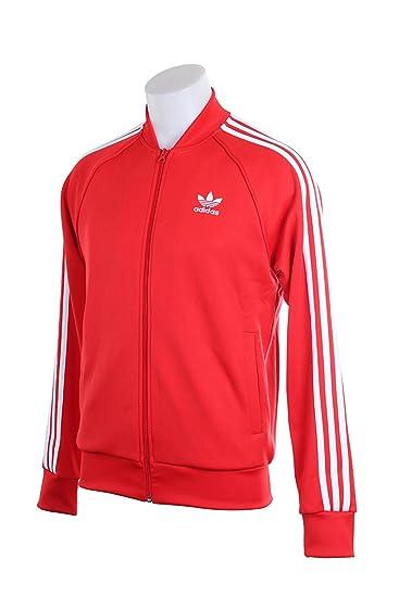 adidas originals superstar track jacket red, Adidas